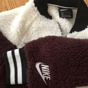 Nike Fluffy Bomber Jacket
